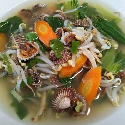 Resep Masakan Sup kerang dara cabai hijau